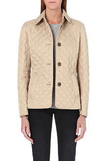 BURBERRY Copford short quilted coat