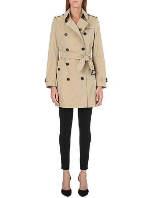 BURBERRY Buckingham mid-length trench coat