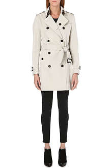 BURBERRY Buckingham mid-length trench coat
