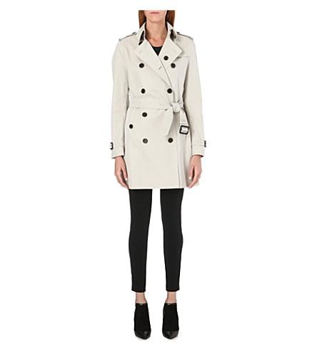 BURBERRY Buckingham mid-length trench coat (Stone