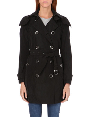 BURBERRY Balmoral mid-length taffeta trench coat