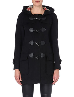 BURBERRY Minstead wool duffle coat