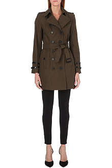BURBERRY Queensborough mid-length trench coat