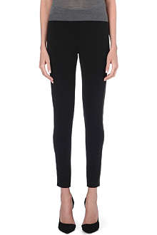 BURBERRY Skinny stretch-crepe trousers