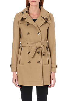 BURBERRY Daylesmoore wool-blend coat