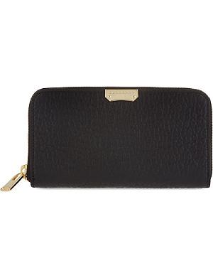 BURBERRY Elmore zip around wallet
