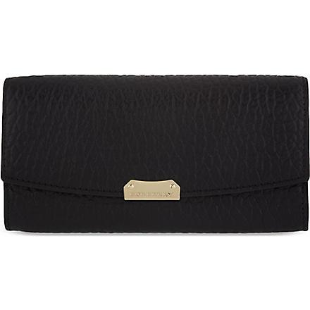 BURBERRY Porter continental wallet (Black