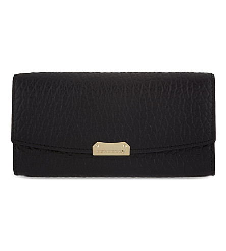 BURBERRY Porter continental wallet (Black