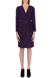 BURBERRY Doris printed wrap dress