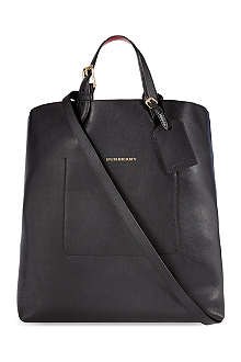 BURBERRY Caulfield large leather tote