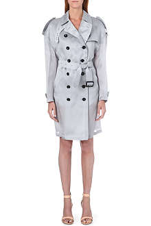 BURBERRY Dillingford silk trench coat