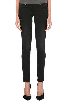 BURBERRY Skinny mid-rise jeans