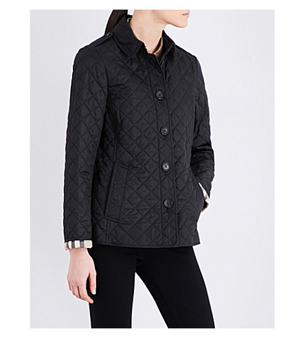BURBERRY Ashurst quilted jacket (Black