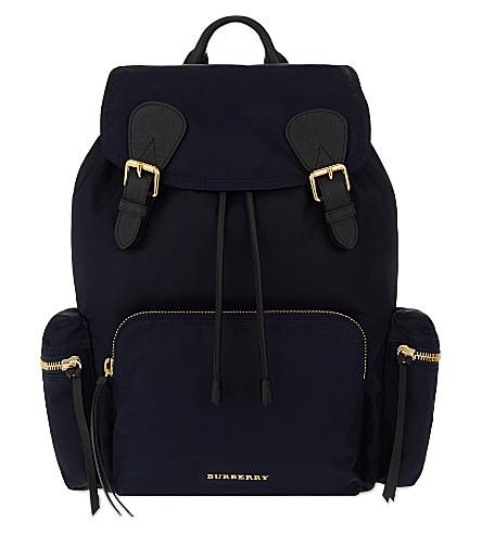 BURBERRY PRORSUM Prorsum large nylon backpack (Navy