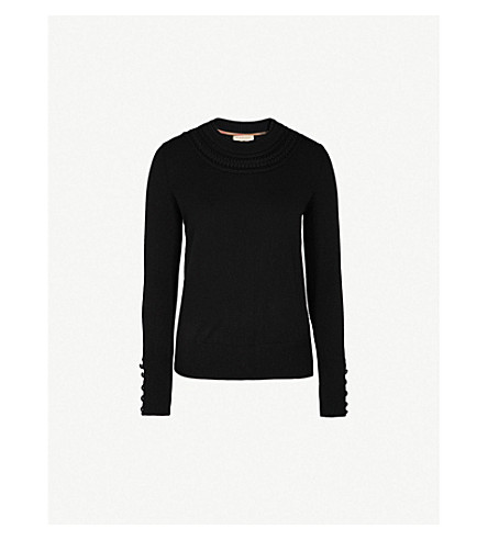 BURBERRY Carapelle cashmere jumper (Black