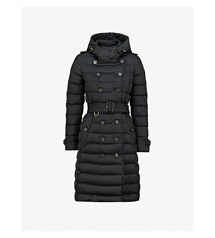 BURBERRY Dalmerton quilted shell down coat (Black