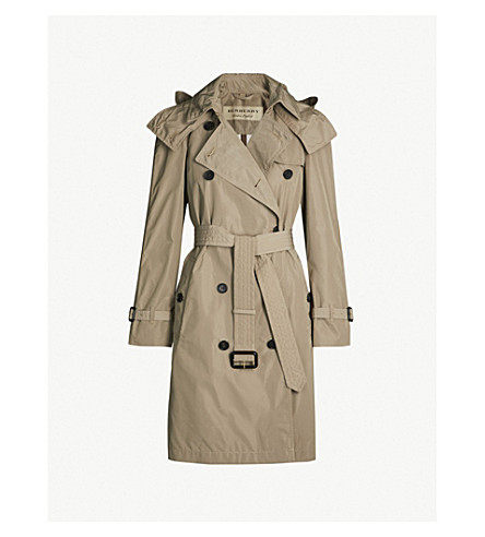 BURBERRY Amberford cotton trench coat (Sisal