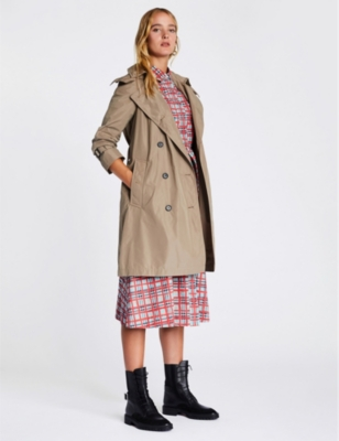 Amberford cotton trench coat