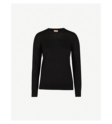BURBERRY Viar wool jumper (Black