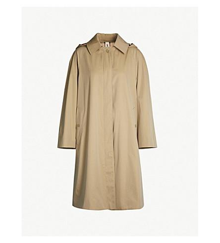 BURBERRY Richmond cotton-twill trench coat (Honey