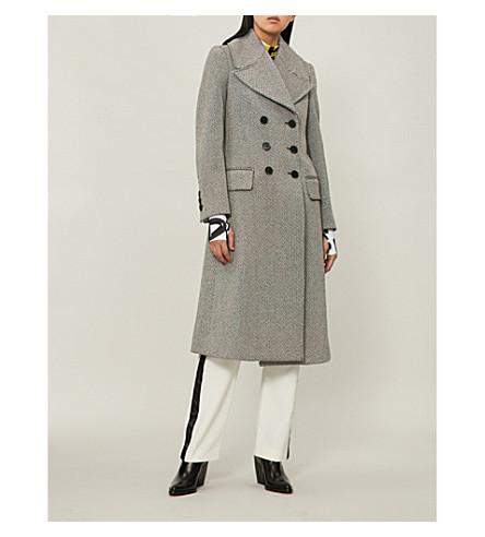 Aldermore-pattern wool-blend coat(8001324)