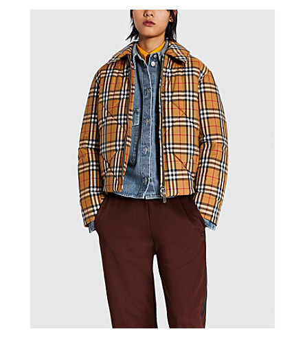 Knowstone quilted shell jacket(8002677)