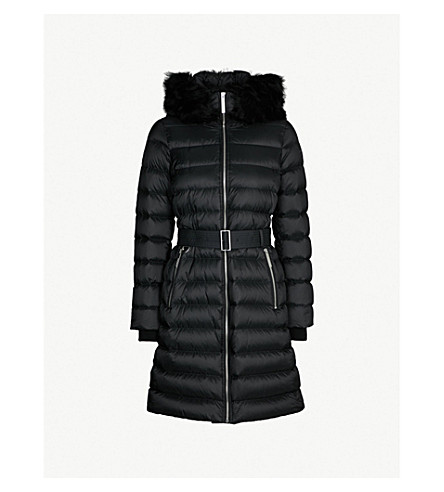 BURBERRY Limehouse hooded shell-down puffer coat (Black