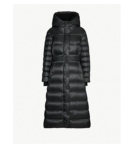 BURBERRY Kington hooded shell-down puffer coat (Black