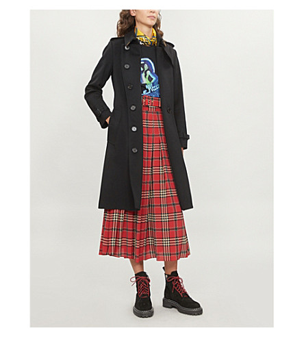 Kensington cashmere coat(8004097)