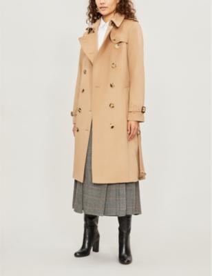 The Kensington Heritage long cotton trench coat(7286211)