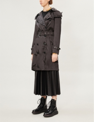 Kensington double-breasted woven trench coat(8005357)