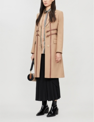 Callington belted wool trench coat(8005314)