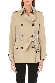 BURBERRY Barons Court short trench coat
