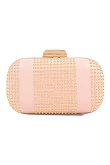 EMILIO PUCCI Studded leather clutch
