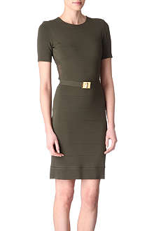 EMILIO PUCCI Mesh-panelled dress