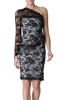 EMILIO PUCCI Asymmetric lace dress