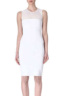 EMILIO PUCCI Mesh-detail dress