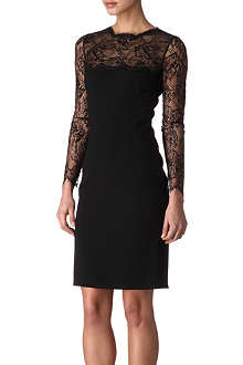 EMILIO PUCCI Lace and crepe dress