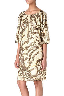 EMILIO PUCCI Metallic camo dress