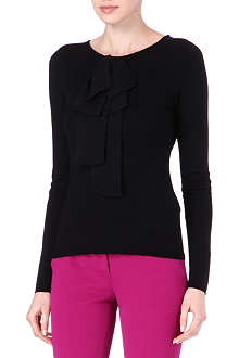 EMILIO PUCCI Bow neck wool jumper