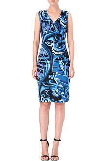 EMILIO PUCCI Printed wrap dress