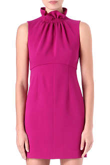 EMILIO PUCCI Ruffled-neck dress