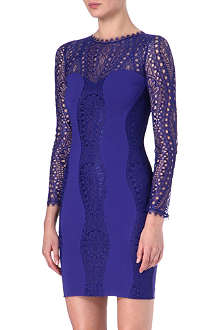 EMILIO PUCCI Lace contrast dress