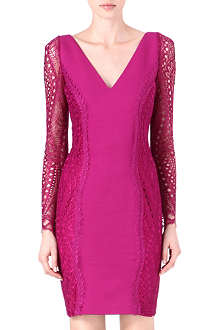 EMILIO PUCCI Lace-sleeve dress