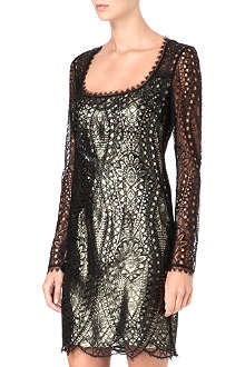 EMILIO PUCCI Cut-out lace dress