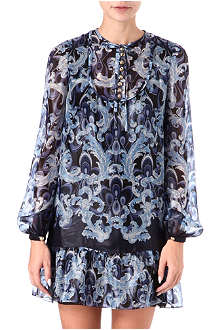 EMILIO PUCCI Coated printed dress