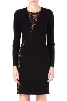 EMILIO PUCCI Lace-panel dress