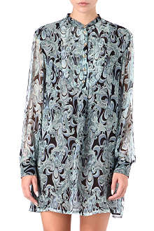 EMILIO PUCCI Printed silk-chiffon dress