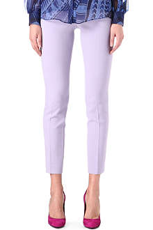 EMILIO PUCCI Slim-fit cropped trousers