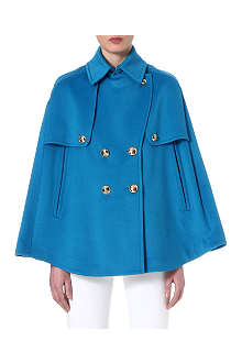 EMILIO PUCCI Wool and angora cape